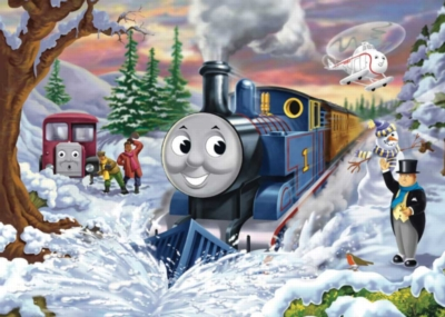 Thomas & Friends: Clearing the Way - 35pc Jigsaw Puzzle by Ravensburger
