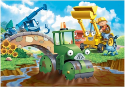 Bob the Builder: Stuck in the Mud - 35pc Jigsaw Puzzle by Ravensburger