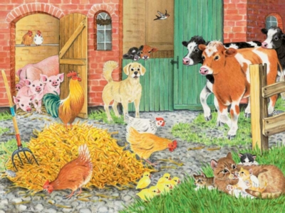 On the Farm - 35pc Ravensburger Jigsaw Puzzle by Ravensburger