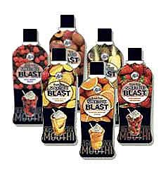 Big Train Fruit Tea Blast - 32 fl. oz. Bottle Case