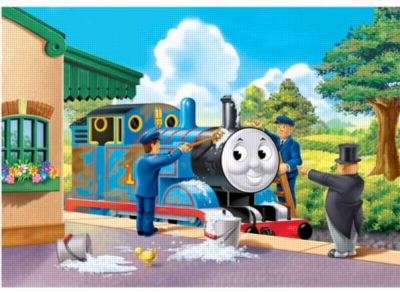 Thomas & Friends: Keeping Thomas Clean - 35pc Jigsaw Puzzle by Ravensburger