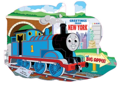 Thomas & Friends: Greetings from New York! - 24pc Jigsaw Puzzle by Ravensburger