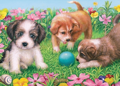 Little Doggies - 60pc Jigsaw Puzzle by Ravensburger