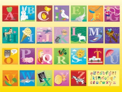 The Alphabet - 60pc Jigsaw Puzzle by Ravensburger