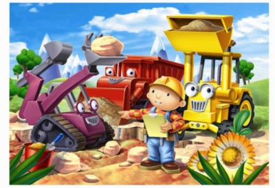 Bob the Builder: Fixing the Road - 60pc Jigsaw Puzzle by Ravensburger
