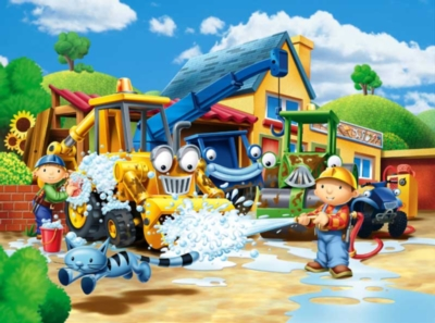 Bob the Builder: Cleaning Up! - 60pc Jigsaw Puzzle by Ravensburger