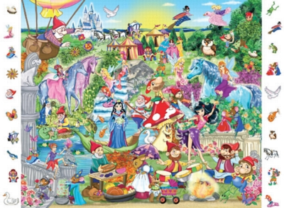 Dream Land - 84pc Look and Find Jigsaw Puzzle by Ravensburger