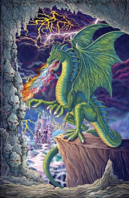 Dragon's Lair - 100pc Jigsaw Puzzle by Ravensburger