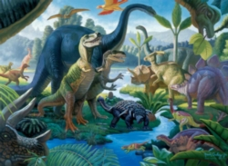 Dinosaurs Jigsaw Puzzles for Kids - Land of the Giants