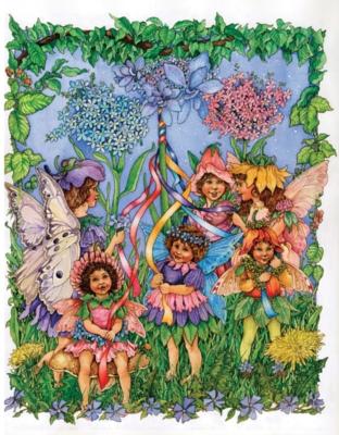 Maypole Fairies - 100pc Jigsaw Puzzle by Ravensburger