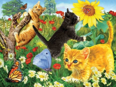 Cuddly Kittens - 100pc Ravensburger Jigsaw Puzzle by Ravensburger