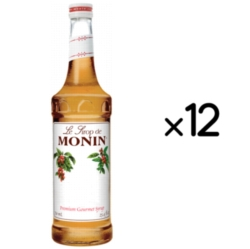 Monin Classic Flavored Syrups - 750 ml. Glass Bottle Case