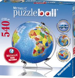 Metallic Earth - 540pc Puzzleball by Ravensburger