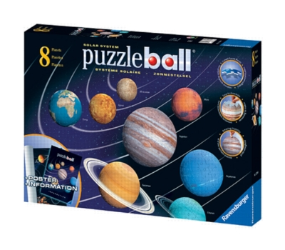 Collection of Eight Solar System - 24 to 144pc Puzzleball by Ravensburger