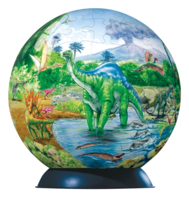 Dinosaurs - 96pc Puzzleball by Ravensburger