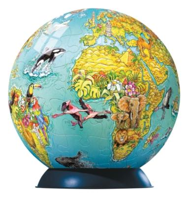 Children's Globe - 96pc Puzzleball by Ravensburger