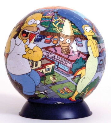 The Simpsons - 240pc Puzzleball by Ravensburger