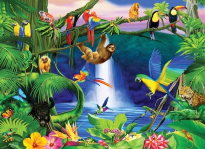 Jungle Life - 200pc Jigsaw Puzzle by Ravensburger