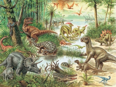 Dinosaurs - 200pc Ravensburger Jigsaw Puzzle by Ravensburger
