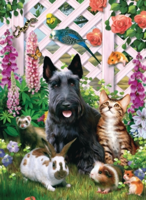 Among Friends - 200pc Jigsaw Puzzle by Ravensburger