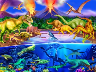 Prehistoric Times - 300pc Jigsaw Puzzle by Ravensburger