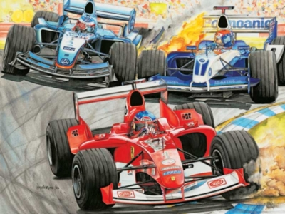 Formula 1 Racing - 300pc Ravensburger Jigsaw Puzzle by Ravensburger