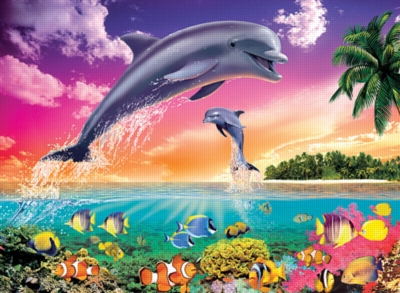 Dolphin's Universe - 300pc Jigsaw Puzzle by Ravensburger