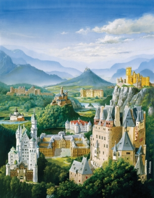 German Castles - 300pc Jigsaw Puzzle by Ravensburger