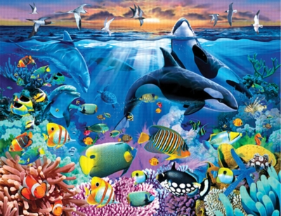 Ocean Marvels - 380pc Jigsaw Puzzle by Ravensburger