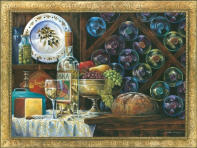 Gourmet Bounty - 300pc Large Format Jigsaw Puzzle by Ravensburger