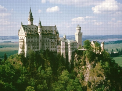 Neuschwanstein Beauty - 300pc Large Format Jigsaw Puzzle by Ravensburger