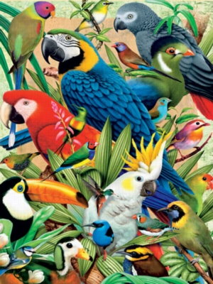Avian World - 300pc Large Format Jigsaw Puzzle by Ravensburger