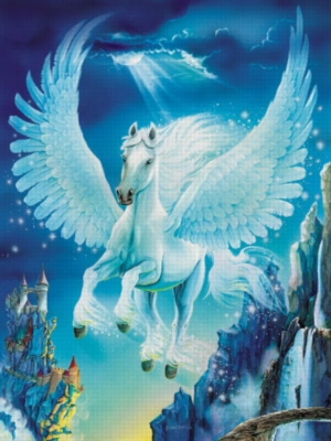 Magical Wings - 200pc Glow in the Dark Jigsaw Puzzle by Ravensburger