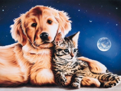 Friends - 200pc Glow in the Dark Jigsaw Puzzle by Ravensburger