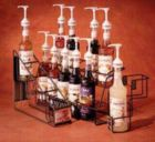 Monin Glass Bottle Display Rack (4 Bottles)