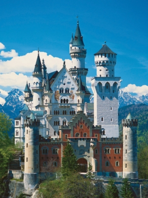 Neuschwanstein Castle - 500pc Jigsaw Puzzle by Ravensburger