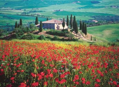 Tuscany, Italy - 500pc Jigsaw Puzzle by Ravensburger
