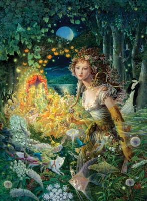 Forest Fairy - 500pc Jigsaw Puzzle by Ravensburger