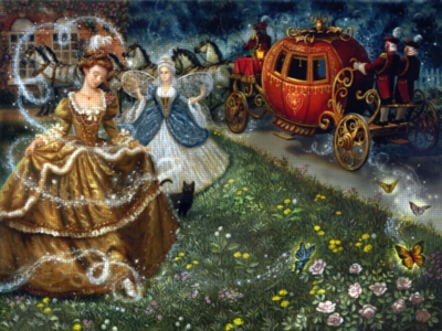 Cinderella's Transformation - 500pc Jigsaw Puzzle by Ravensburger
