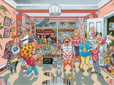Wasgij: Home Improvement - 500pc Jigsaw Puzzle by Ravensburger
