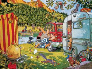 Wasgij: Bear Necessities - 500pc Jigsaw Puzzle by Ravensburger