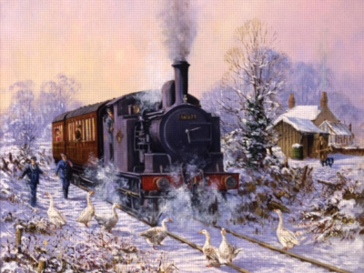 Snow Bound - 500pc Large Format Jigsaw Puzzle by Ravensburger