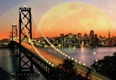 Oakland Bay Bridge - 150pc Jigsaw Puzzle by Ravensburger