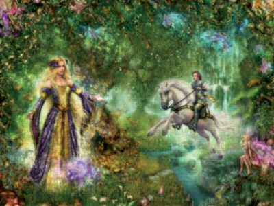 Fairy Forest - 1000pc Jigsaw Puzzle by Ravensburger