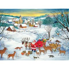 White Christmas - 1000pc Jigsaw Puzzle by Ravensburger