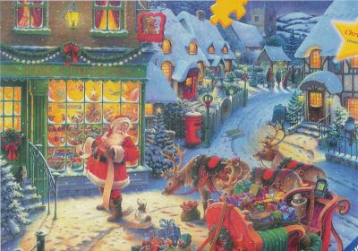 Santa's List - 1000pc Jigsaw Puzzle by Ravensburger