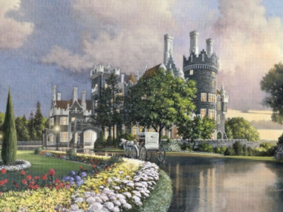 Tranquil Castle - 1000pc Jigsaw Puzzle by Ravensburger