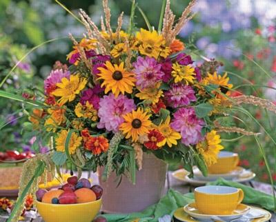Sunflower Bouquet - 1500pc Jigsaw Puzzle by Ravensburger