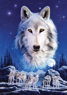 Night of the Wolves - 1500pc Jigsaw Puzzle by Ravensburger