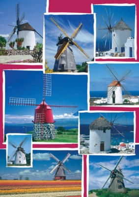 Windmill - 1500pc Jigsaw Puzzle by Ravensburger